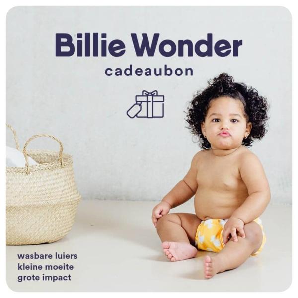 Billie Wonder cadeaubon wasbare luiers