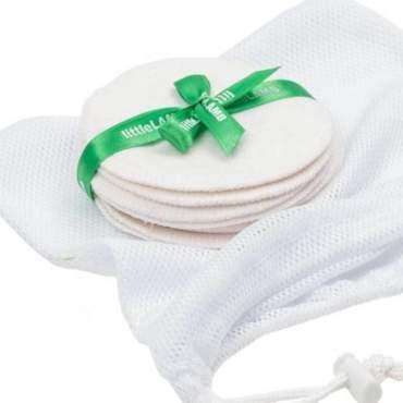 littlelamb wasbare nursing pads zoogcompressen